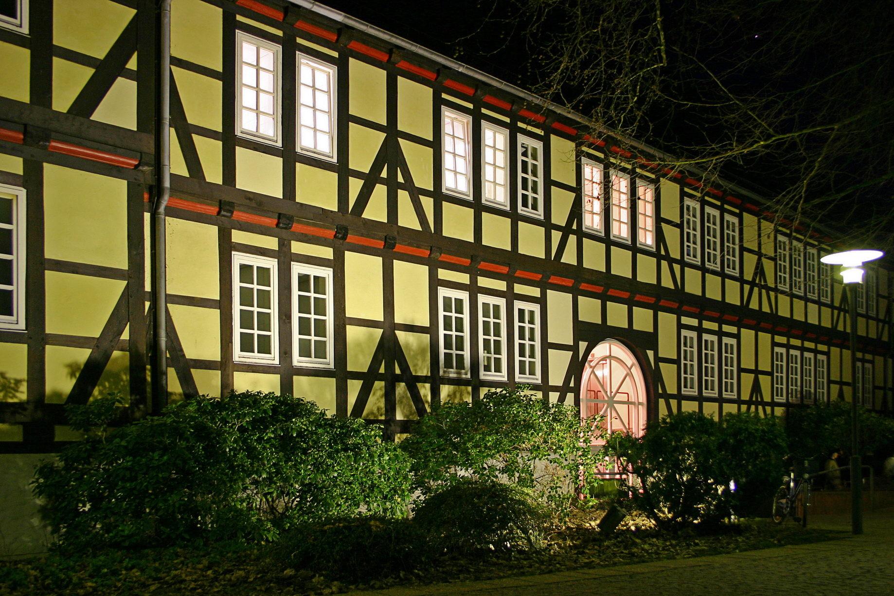 Burgdorfer Schloss bei Nacht