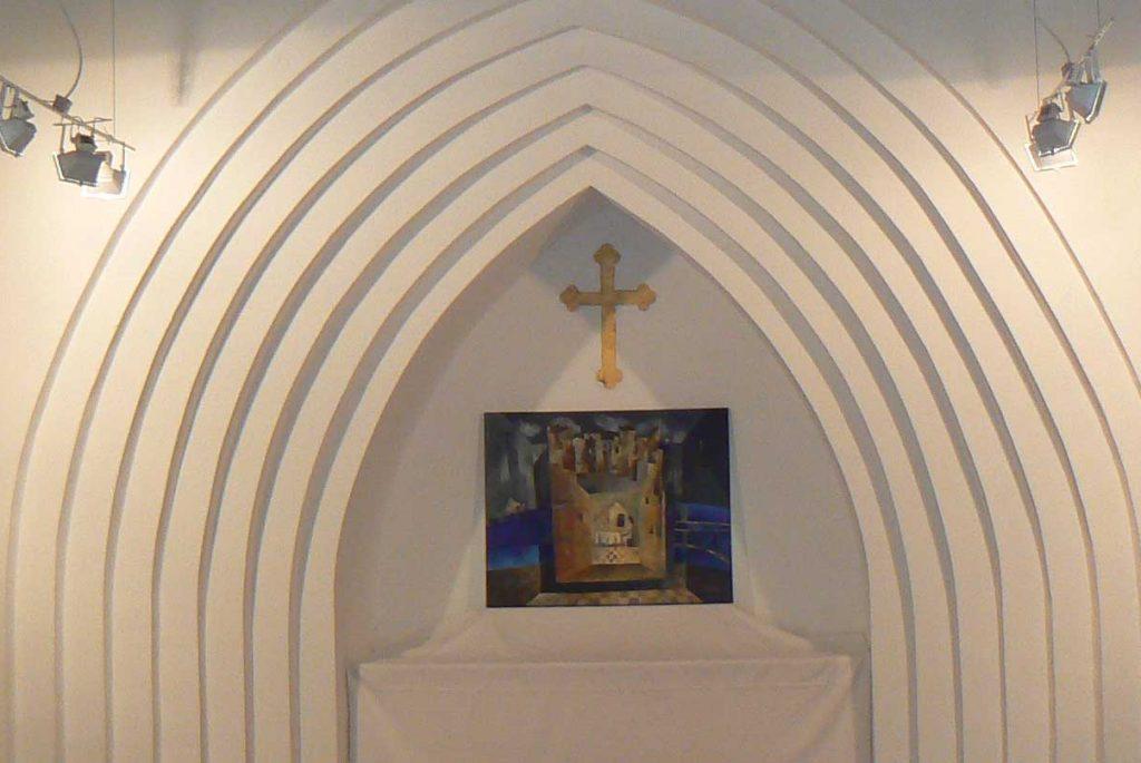 Kunst in der Kapelle, Ausstellung Viktor Naimark 2010